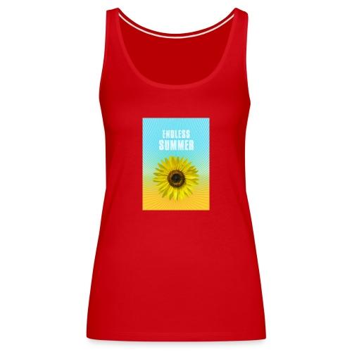 sunflower endless summer Sonnenblume Sommer - Women's Premium Tank Top