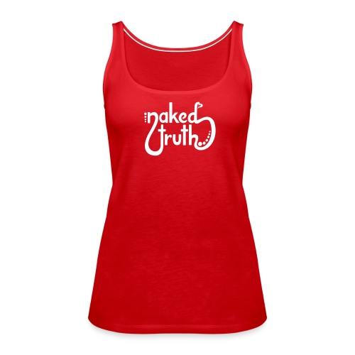 naked truth - simple - Frauen Premium Tank Top