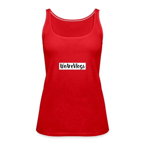 WeAreVlogs - Women's Premium Tank Top