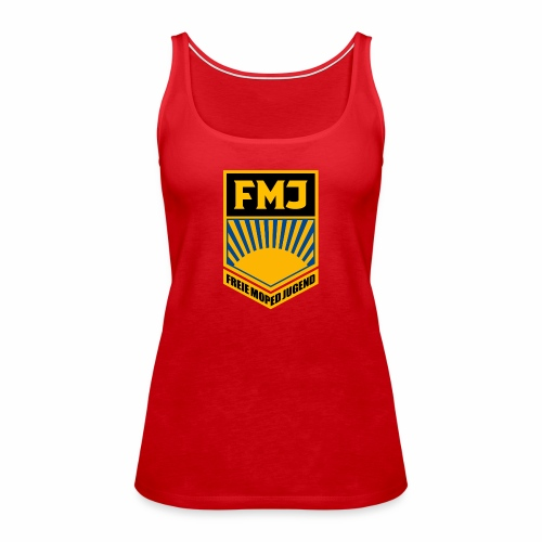Freie Moped Jugend FDJ Parodie - Women's Premium Tank Top