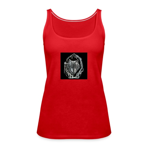 Crystal Wolf - Women's Premium Tank Top