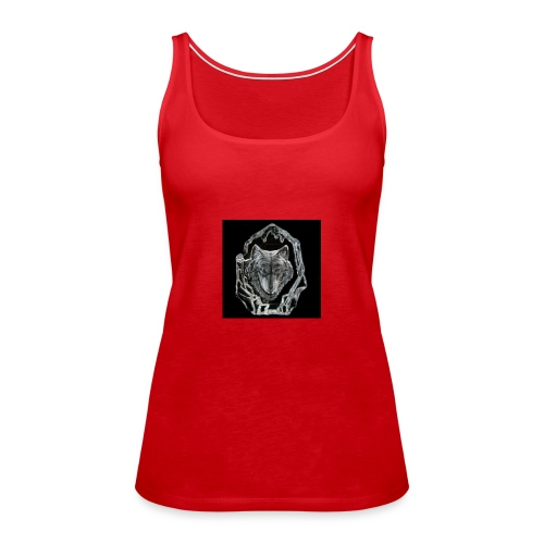 Crystal Wolf - Women's Premium Tank Top