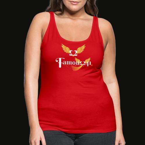 Famousflying heart by famous241💝💖 - Débardeur Premium Femme