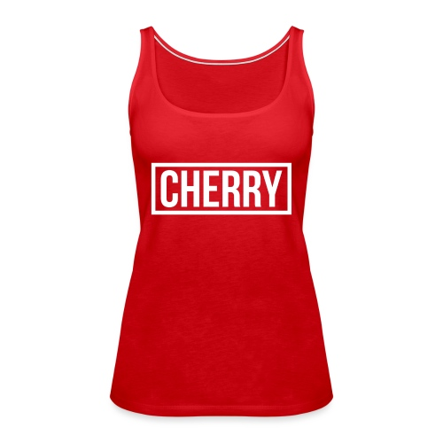 Cherry White - Vrouwen Premium tank top