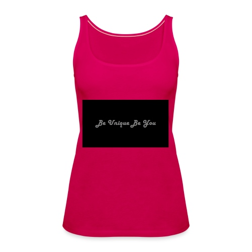 Be yourself - Women's Premium Tank Top