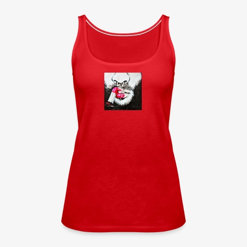 Queer revolution - Red lipstick - Women's Premium Tank Top