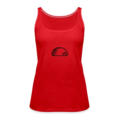 Fresh Monkey Taco Series. - Vrouwen Premium tank top