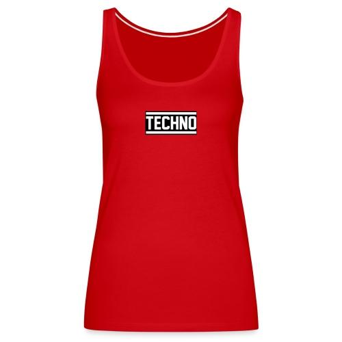 Techno classic - Frauen Premium Tank Top