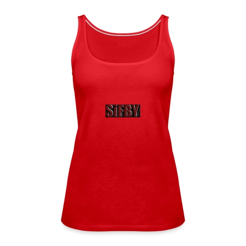 SiFBY - Camiseta de tirantes premium mujer