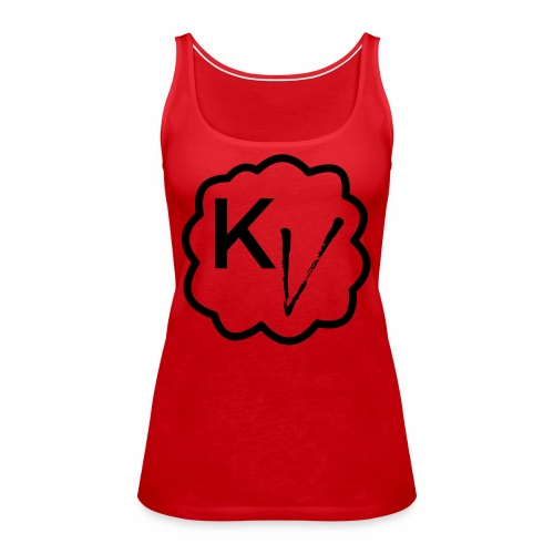 King Vape Icon - Women's Premium Tank Top