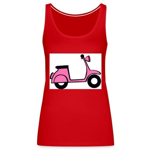 Moto vintage - Camiseta de tirantes premium mujer
