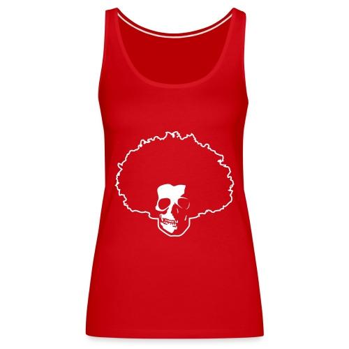 Afro Skull - Frauen Premium Tank Top