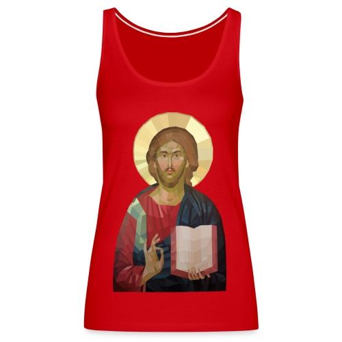 Abstract Jesus - Women's Premium Tank Top