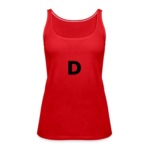 klädplag 4 - Premiumtanktopp dam