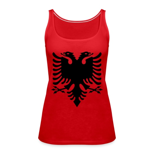 Kosovo Doppelkopfadler Shqiptar Shqipe - Frauen Premium Tank Top