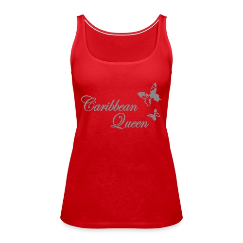 Caribbean Queen Butterfly Tops - Frauen Premium Tank Top