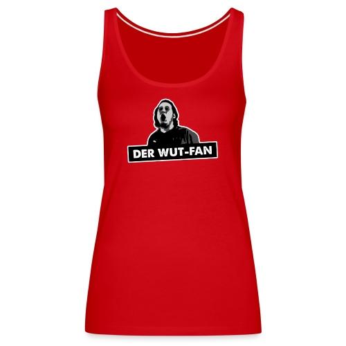 Wutfan stroke png - Frauen Premium Tank Top