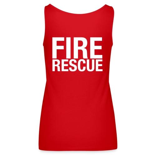 Fire and Rescue - Women's Premium Tank Top