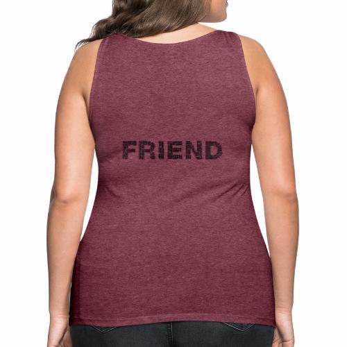 Przyjaciel - Tank top damski Premium
