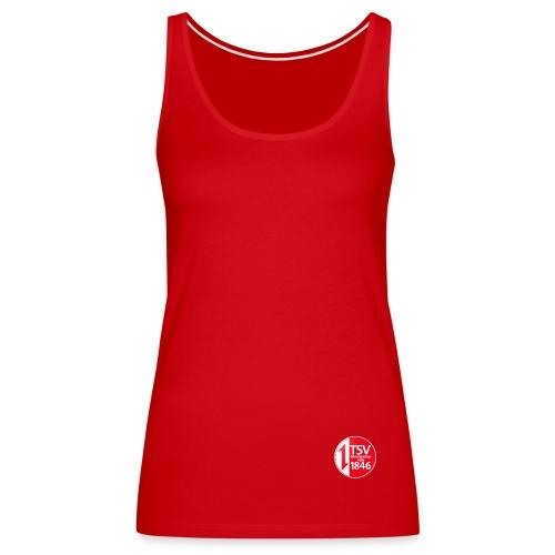 Rand um Logo - Frauen Premium Tank Top