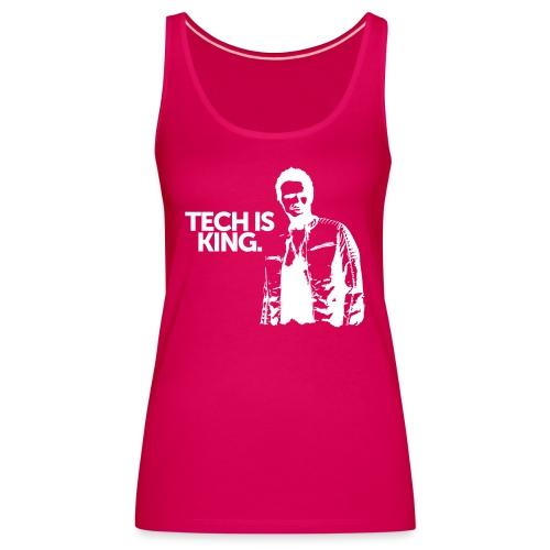 Tech Is King - Women's Premium Tank Top