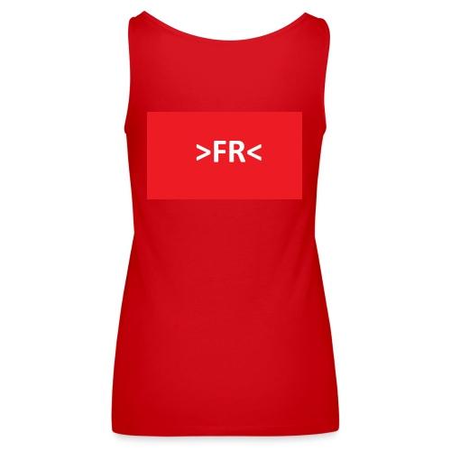 >FR< - Dame Premium tanktop