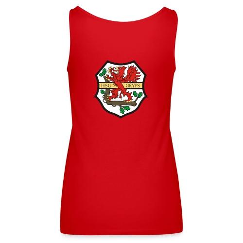 HSG Logo Rücken groß - Frauen Premium Tank Top