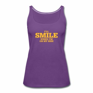 i will smile - Frauen Premium Tank Top