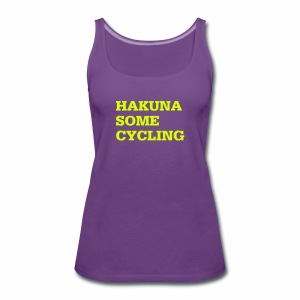 Hakuna some cycling - Frauen Premium Tank Top