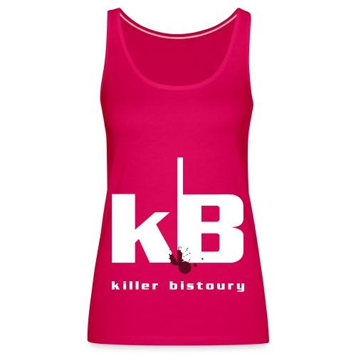 killer bistoury black - Canotta premium da donna