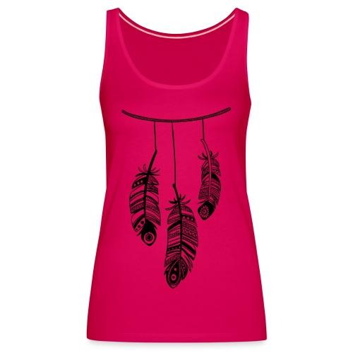 plumas - Camiseta de tirantes premium mujer