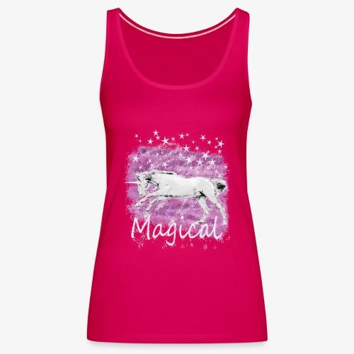 Unicorn Birthday Gift T Shirt for magical girls! - Women's Premium Tank Top