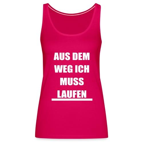 LAUFEN - Frauen Premium Tank Top