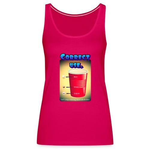 redcup-err - Camiseta de tirantes premium mujer