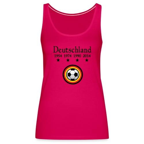 Moderne Fußball-T-Shirts Deutschland - Vrouwen Premium tank top