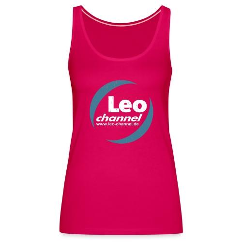 T Shirt Logo Dirty - Leo Channel - Frauen Premium Tank Top