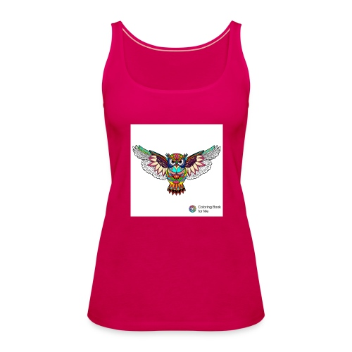 Owl - Women's Premium Tank Top