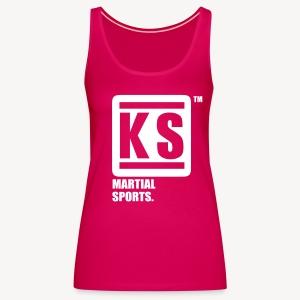 ks martial sport - Débardeur Premium Femme