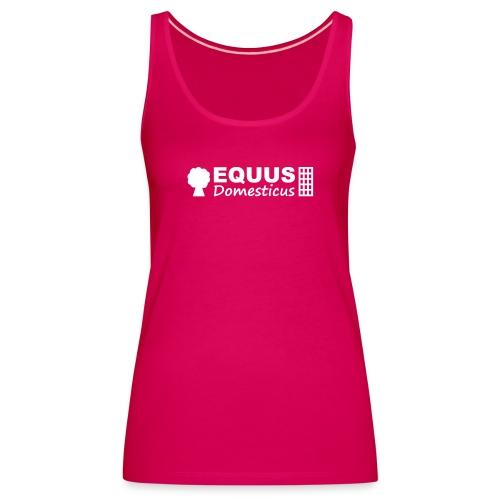 EQDO Logo SingleElementsGruppiert FarbtonBlogname - Frauen Premium Tank Top