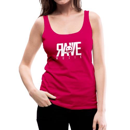 Rave MUZIK Logo Wear - Frauen Premium Tank Top