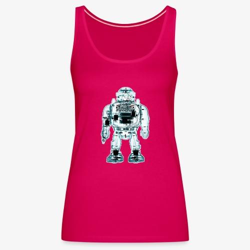 x ray robot 1 - Canotta premium da donna