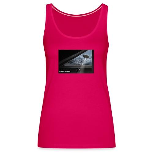 UFO by Jack Savage / Visions Libres Magazine - Frauen Premium Tank Top
