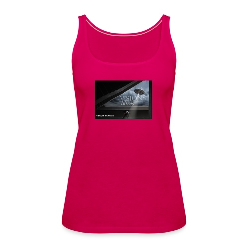 UFO by Jack Savage / Visions Libres Magazine - Frauen Premium Tank Top
