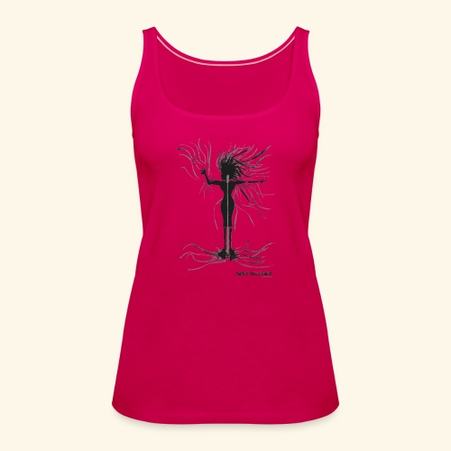 Shaka, Female Singer - Women's Premium Tank Top
