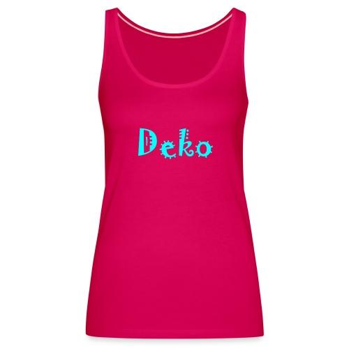 Deko - Frauen Premium Tank Top