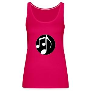 music note: MIGI WEAR - Vrouwen Premium tank top