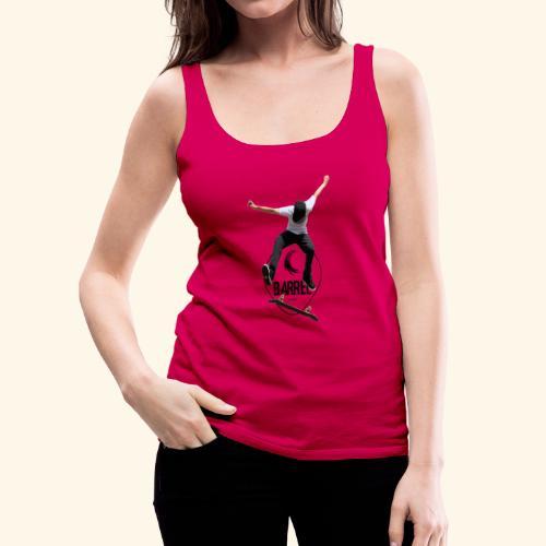 Barrel_skate - Camiseta de tirantes premium mujer