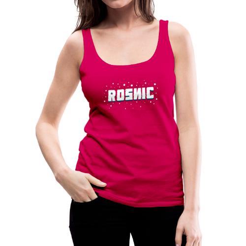 Rosnic Wit - Vrouwen Premium tank top