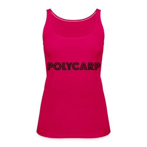 Polycarp - Vrouwen Premium tank top