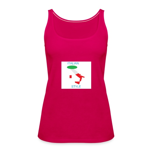 ITALIAN STYLE - Canotta premium da donna